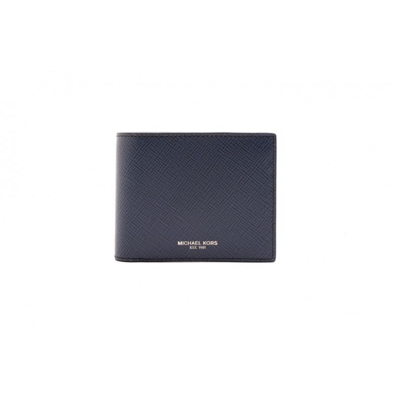 MICHAEL BY MICHAEL KORS - Leather Wallet - Vintage Indigo Blue