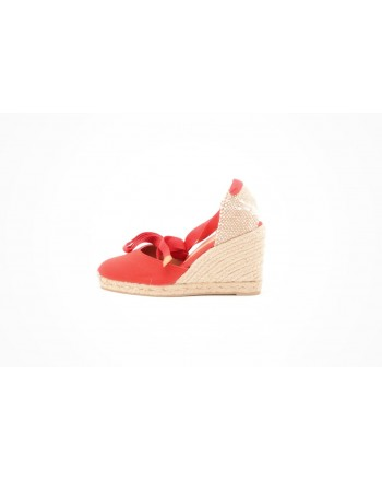 CASTANER -  Wedge espadrille - Red