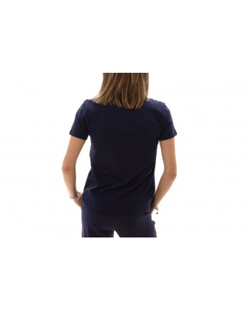 MICHAEL BY MICHAEL KORS - T-Shirt in cotone con strass - True Navy