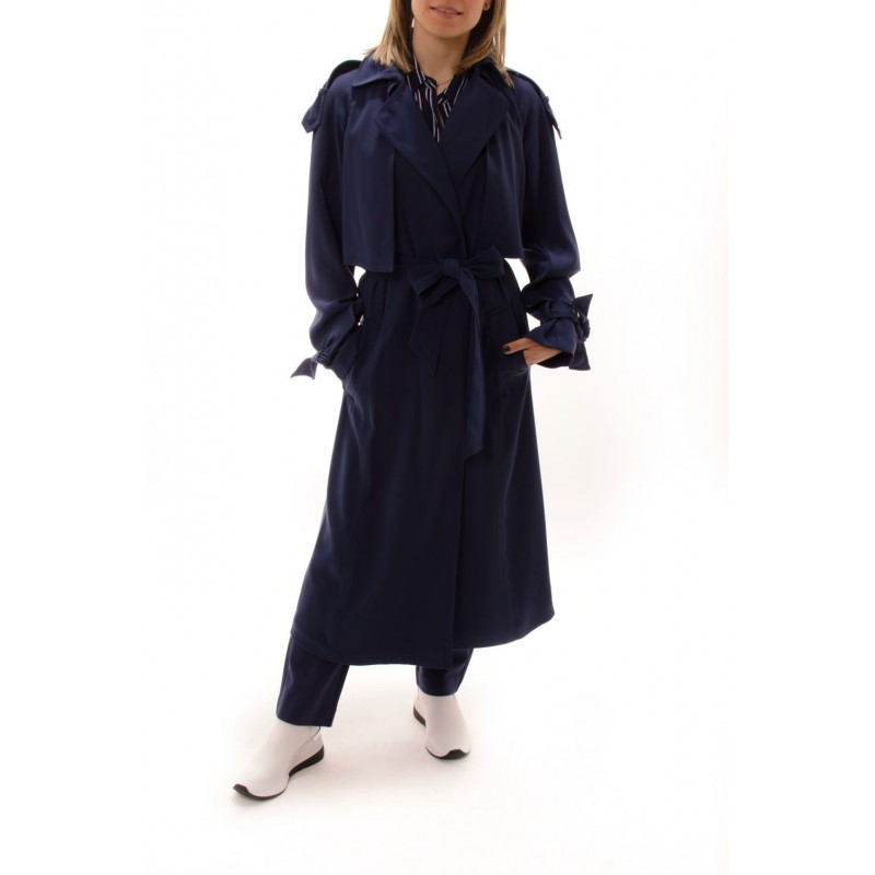 MICHAEL BY MICHAEL KORS - Trench drappeggiato - Navy