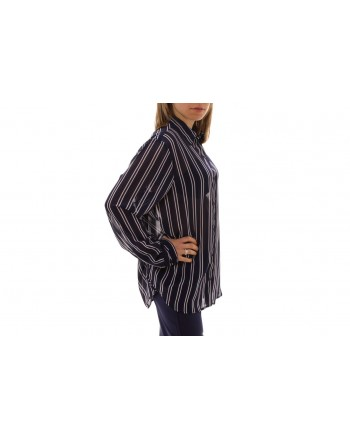 MICHAEL BY MICHAEL KORS -  Camicia a Righe - True Navy/Bianco