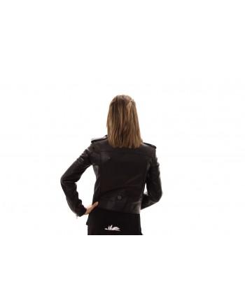 PHILIPP PLEIN - Studded Leather Jacket - Black