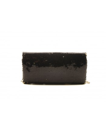 LOVE MOSCHINO - Handbag Sequinned with  Paillettes - Black