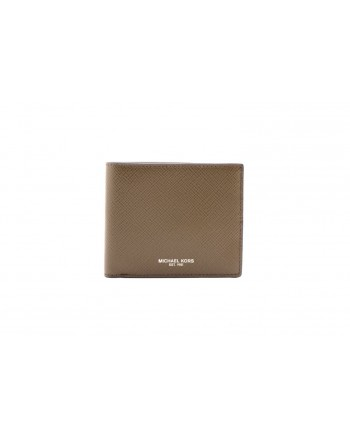 MICHAEL BY MICHAEL KORS -  Leather Wallet  - Olive Green