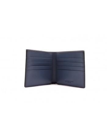 MICHAEL BY MICHAEL KORS -  Leather Patterned Wallet  - Vintage Indigo