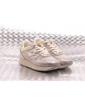 LOTTO LEGGENDA - SLICE CORDA Sneakers - Gray/Golden