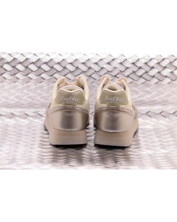 LOTTO LEGGENDA - Sneakers SLICE CORDA - Gray/Golden