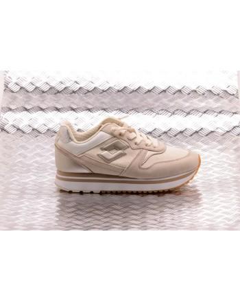 LOTTO LEGGENDA - SLICE CORDA Sneakers  - Antique White/Gold