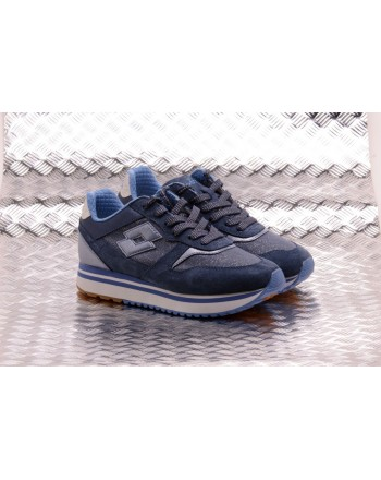LOTTO LEGGENDA - Sneakers SLICE CORDA - Denim/true blue