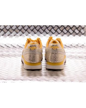 LOTTO LEGGENDA -  TOKYO WEDGE METAL sneakers - Angora White/Gold