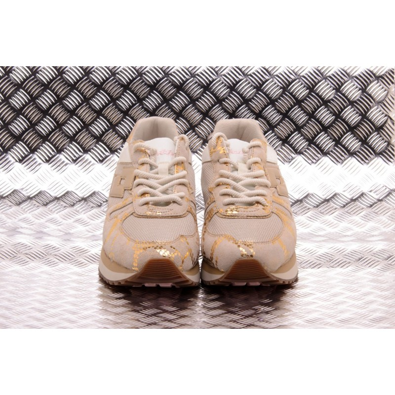 LOTTO LEGGENDA -  TOKYO WEDGE CRACK Sneakers - Angora White/Light