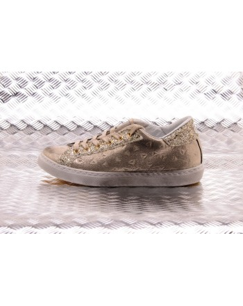 2 STAR - Sneakers Low Oro - Platino