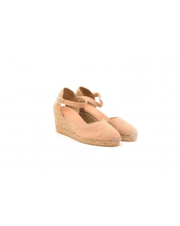 CASTANER -  CAROL Wedge Espadrillas  - Light Pink