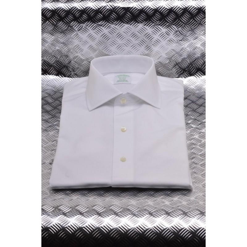 BROOKS BROTHERS - Camicia MILANO in cotone - Bianco
