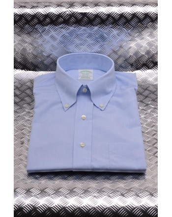 BROOKS BROTHERS - Camicia MILANO in cotone - Cielo