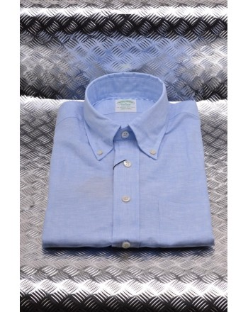 BrooksBrothers -  Camicia in lino - Azzurro