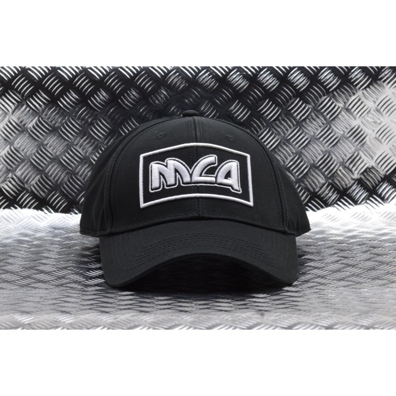 MCQ BY ALEXANDER MCQUEEN -  Beseball hat in cotton - Black/White