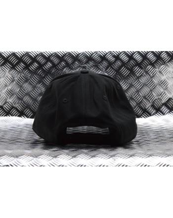 MCQ BY ALEXANDER MCQUEEN - Cappello Beseball in cotone - Nero/Bianco