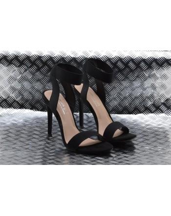 MADDEN GIRL - Suede  Sandal SLONIE - Nero