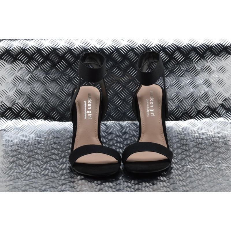 MADDEN GIRL - Sandalo in Suede SLONIE - Nero