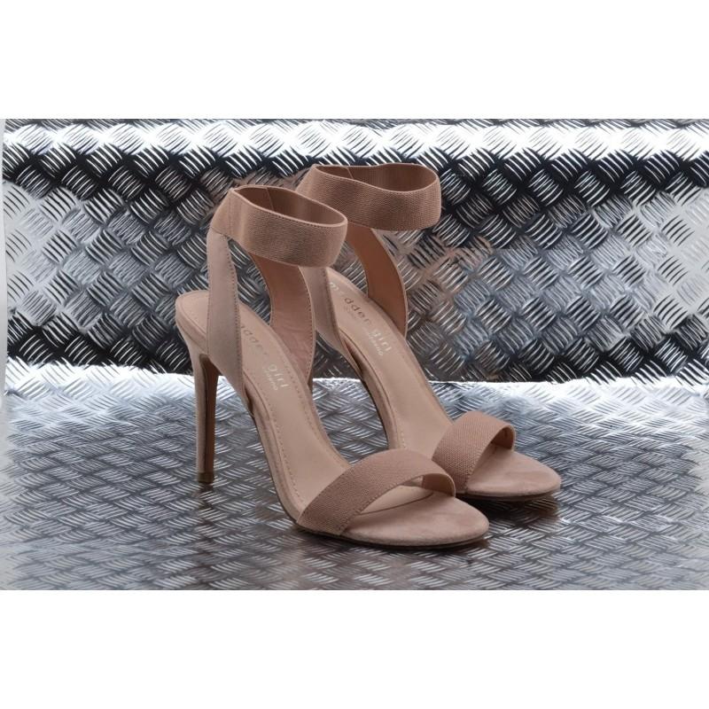 MADDEN GIRL - Sandalo in Suede SLONIE - Nudo