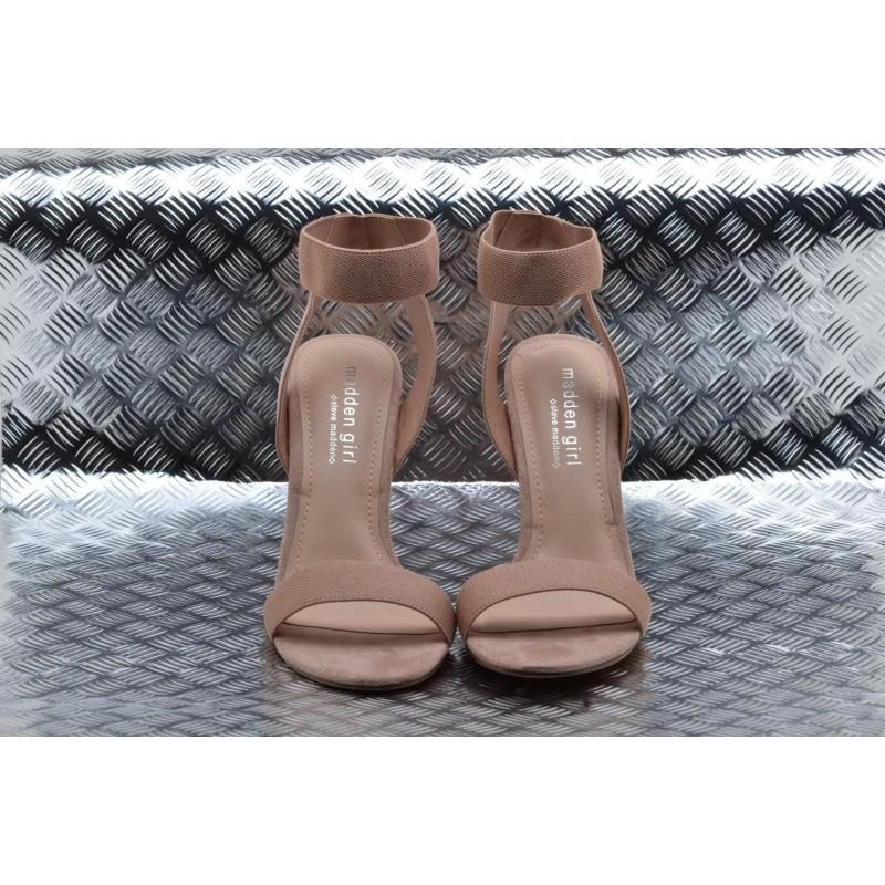 MADDEN GIRL - Suede Sandal  SLONIE - Nude