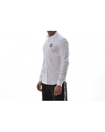 MCQ BY ALEXANDER MCQUEEN -  Long Sleeves Cotton Shirt CURTIS - White