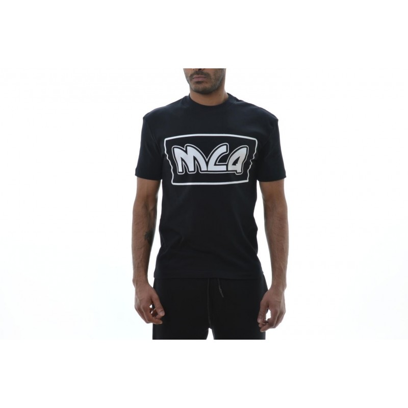 MCQ BY ALEXANDER MCQUEEN -  Cotton T-shirt with print - Black