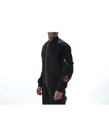 MCQ BY ALEXANDER MCQUEEN -  Patch fabric technical jacket - Black