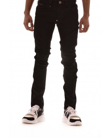 PHILIPP PLEIN - Jeans in cotone - Denim