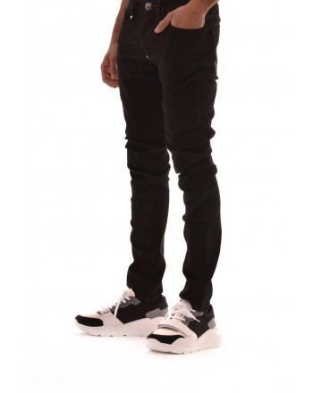 PHILIPP PLEIN - Cotton jeans - Denim
