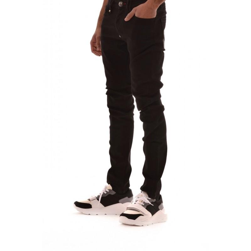 PHILIPP PLEIN - Cotton jeans - Denim