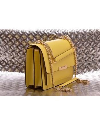 MICHAEL BY MICHAEL KORS -  Leather Shoulder Bag JADE  - Sunshine