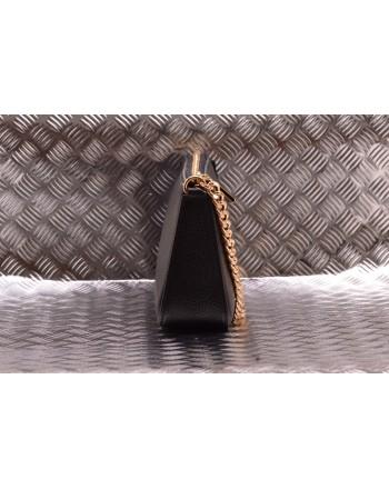 MICHAEL BY MICHAEL KORS - Leather POCHETTE CHAIN  Bag   - Black