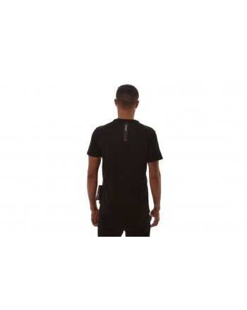 PHILIPP PLEIN - Bronze Skull Cotton T-Shirt  - Black