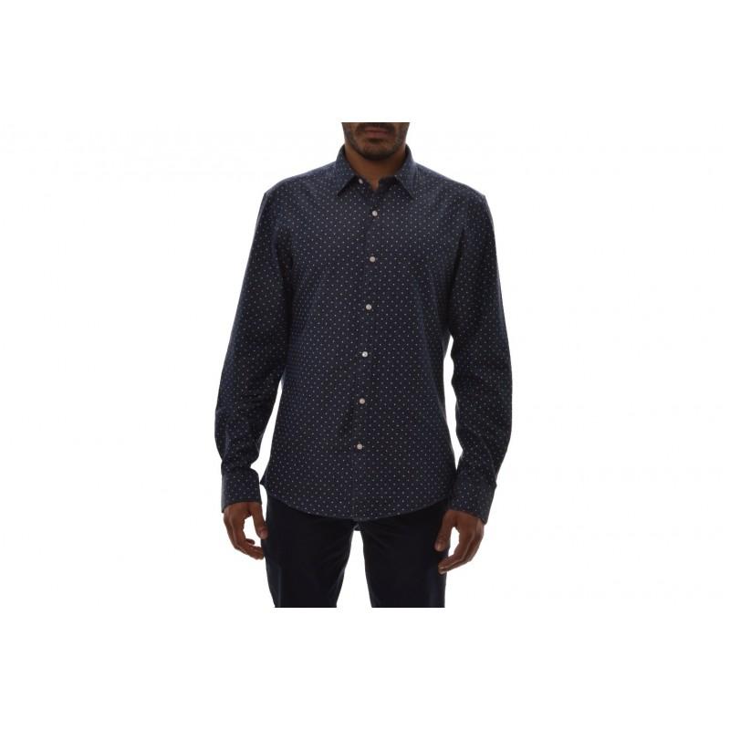 MICHAEL BY MICHAEL KORS -  Viscose and cotton shirt - Blue