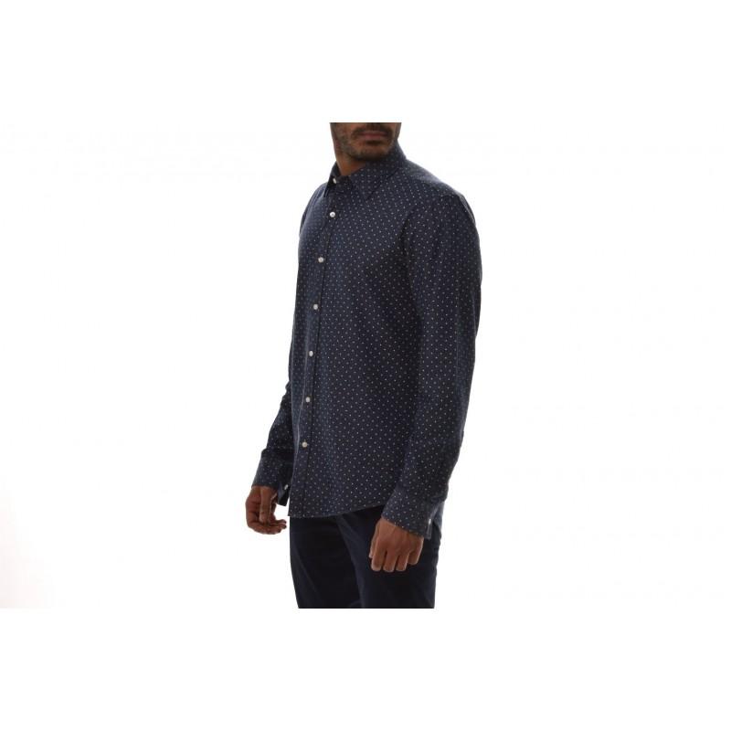 MICHAEL BY MICHAEL KORS - Camicia in viscosa e cotone - Indingo
