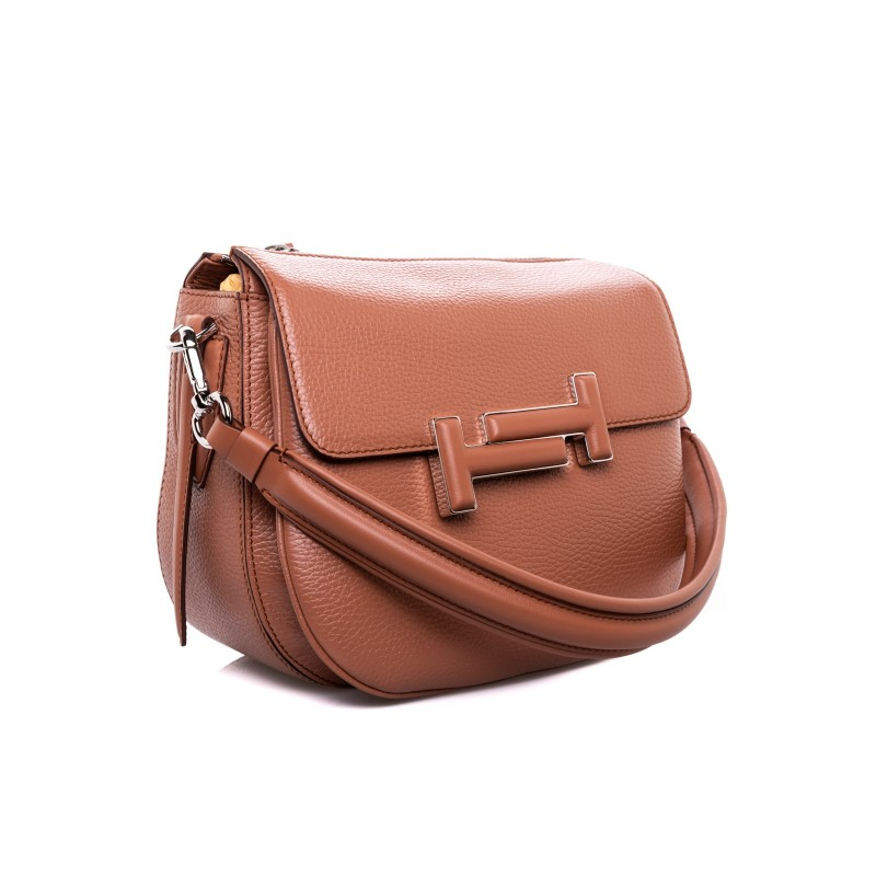 TOD'S - DOUBLE T leather mini bag - Leather