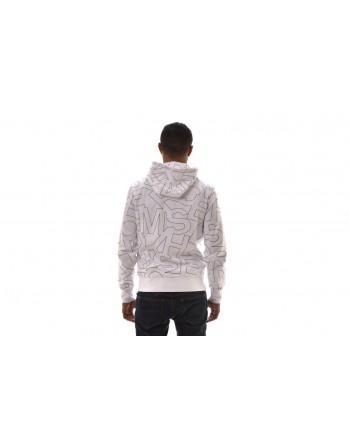 MICHAEL BY MICHAEL KORS - Felpa in cotone con cappuccio  - Bianco