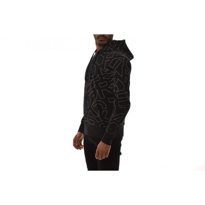 MICHAEL BY MICHAEL KORS - Hooded cotton sweatshirt - Black
