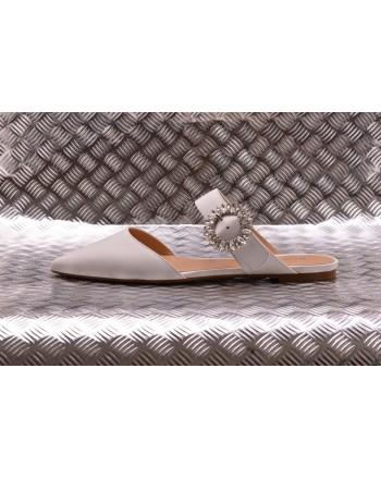MICHAEL BY MICHAEL KORS -  Leather Flats VIOLA - White