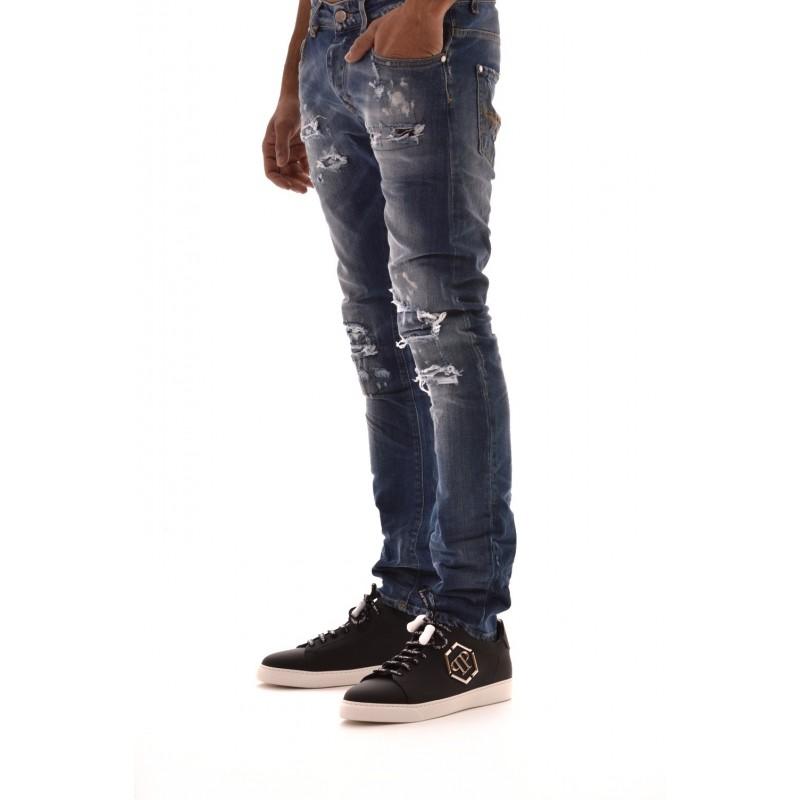 FRANKIE MORELLO -.Jeans with Tears JAMES - Denim