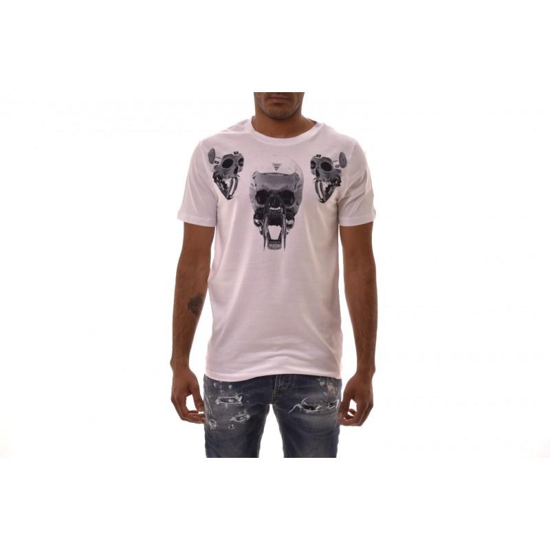 FRANKIE MORELLO - T-Shirt AGOSTINO in cotone - Bianco