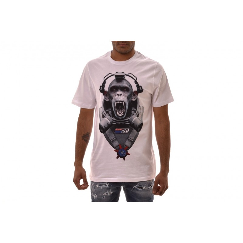 FRANKIE MORELLO -  GOHAN T-Shirt in cotton - White