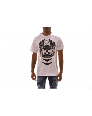 FRANKIE MORELLO -  ENRICO T-Shirt in cotton - White