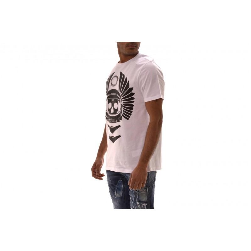 FRANKIE MORELLO -  ENRICO T-Shirt in cotton - White