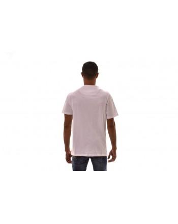FRANKIE MORELLO - T-Shirt ENRICO in cotone - Bianco