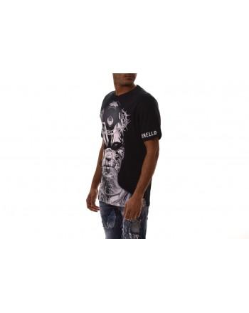 FRANKIE MORELLO -  T-Shirt ARPARD in cotone - Nero
