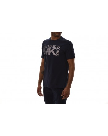MICHAEL BY MICHAEL KORS - Cotton T-Shirt - Dark Blue