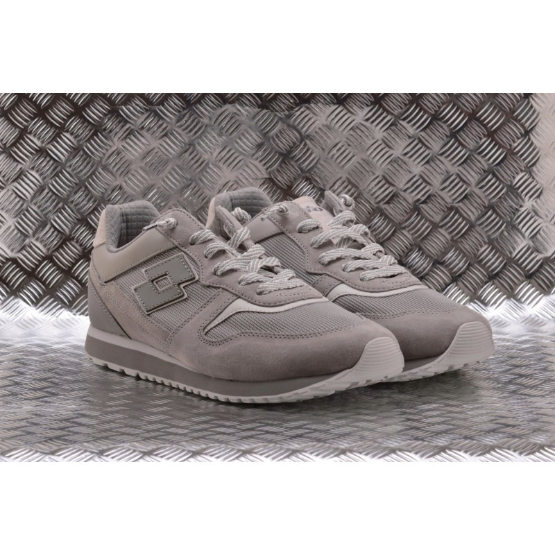 LOTTO LEGGENDA - Sneakers TOKIO GINZA in pelle - Cool/Grey/White